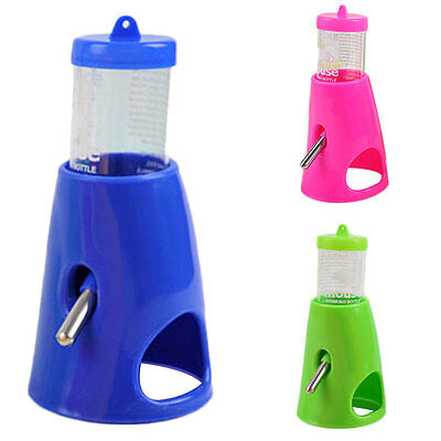 80ml Hamster Rat Drink Water Bottle With Cooling Room House Detachable