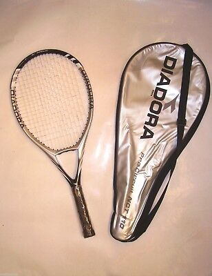 New! Diadora Pro Circuit Nct110 Graphite Tennis Racquet & Thermo Cover Rrp $159