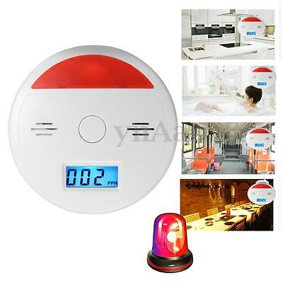 LCD CO Carbon Monoxide Fire Poisoning Gas Sensor Alarm Warning Detector Tester
