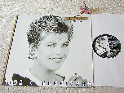 C.C. CATCH Like A Hurricane 1987 GER LP HANSA 209631/208687, A-1/B-1 9-87 Matrix
