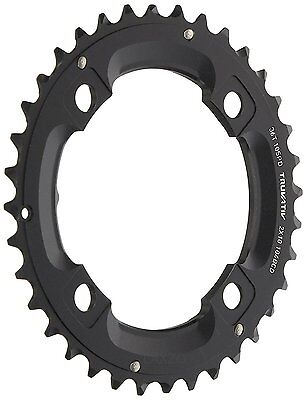 Sram Truvativ MTB Chainring Black 36T 4 Bolt 104 mm Alu No Pin Blast 2x10(36-22)