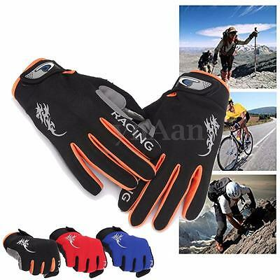 Cycling Bike MTB Bicycle Gloves Mitts Winter Windproof Full Finger Touch Screen