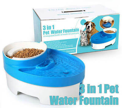 CAT FRESH CLEAN WATER FOUNTAIN KITTEN DOG PUPPY Pet