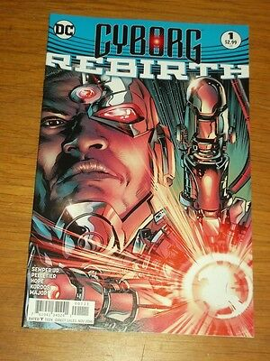 Cyborg Rebirth #1 Dc Comics Nm (9.4)