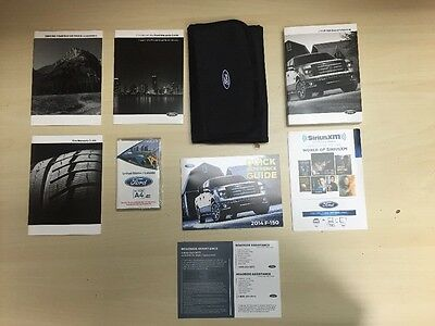 FordF-150 2014 Owners Manual Books -- In Case // Free Shipping