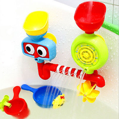 Water Spraying Educational Toys Gifts Fountain Baby Bath Bathroom New Play Sets