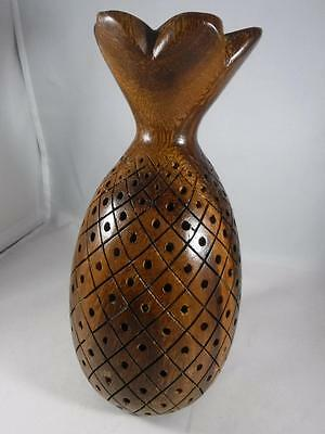 Vintage Wooden Pineapple Hors d'oeuvres Server