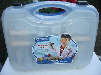 Learning Resources Pretend & Play Doctor Set UPC 765023090482