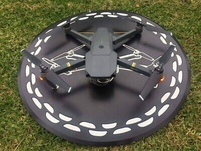 "DJI Mavic Pro Drone Landing Mat / Helipad Heavy Duty Rubber 1/4"" thick USA Made"
