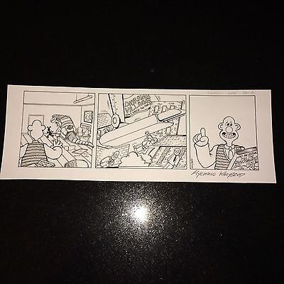 Wallace And Gromit Original Art Jurassic Park Used In Production