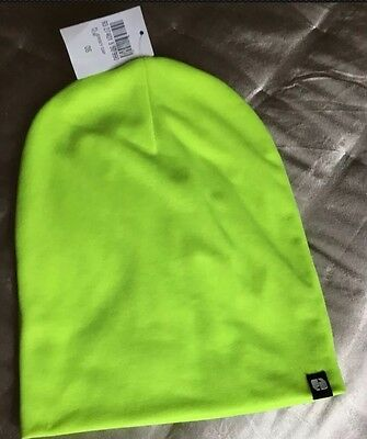 High Visibility Night Running Jogging Cycling Safety Skiing Neon Hat Beanie New