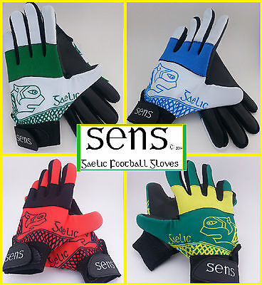 SENS Gaelic Football Gloves GAA From £7.99!! ++Free Postage++ CLEARANCE SALE