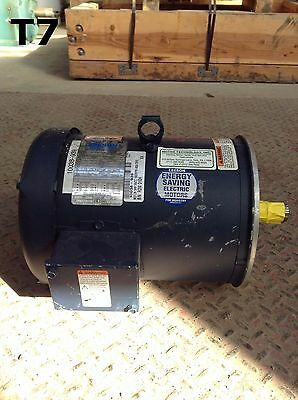 Leeson C184T17FC270 Steel 5HP Electric Motor 1740RPM 208-230/460V 3PH