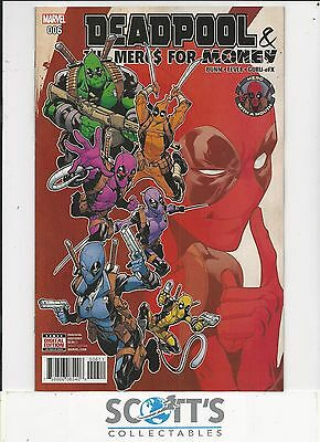 Deadpool And Mercs For Money  #6  New  (Bagged & Boarded) Freepost