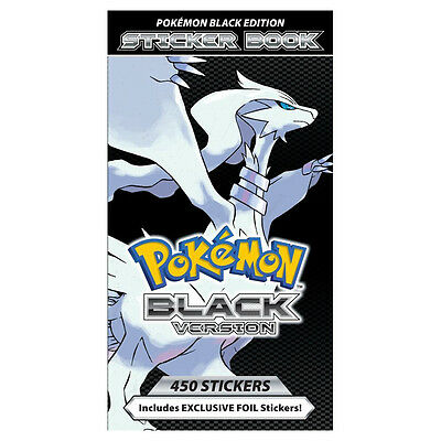 Pokémon Black Edition Sticker Book