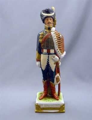 Antique Capodimonte Italy Porcelain Napolionic General DeBEAUHARNAIS Figurine