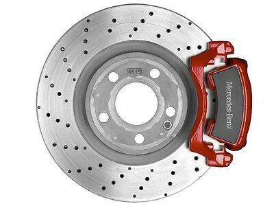 original Mercedes Benz Sport brake systems Kit Brake caliper red A Class W176
