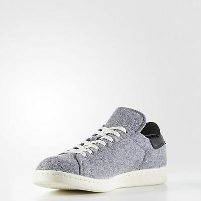 timeless design e1347 720f6 Adidas Stan Smith PC Wool / AQ8452 / Men's AD Black Vintage White Grey