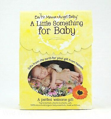 Baby Bath & Diaper Supplies Organic Infant Care Gift Set Earth Mama & Angel