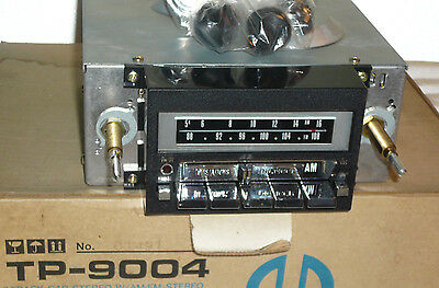 NOS Vintage 60.s 70.s Pioneer TP-9004 Car AM/FM Stereo 8 Track Player NEW in box