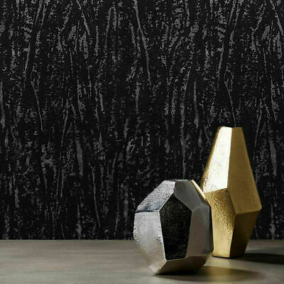 Vinyl Non-Woven Wallpaper Royal Blue Gold Wallcovering Roll Textured Damask 3D