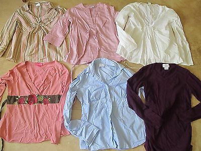 Lot, 6 size S,small maternity tops, Motherhood, Mimi, Old Navy
