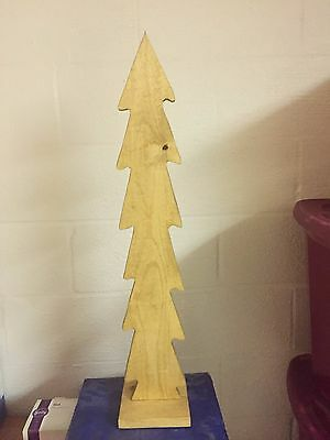 "30"" Wooden Christmas Tree"