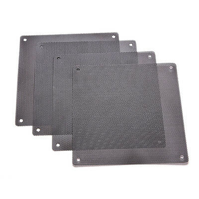 120mm Computer PC Dustproof Cooler Fan Cover Dust Filter.Mesh with 4 screw Funny