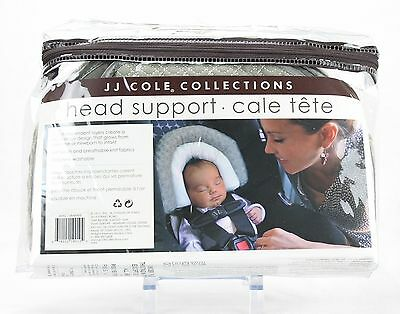 JJ Cole Infant Head Support Pillow New for Car Seat- Stroller- Carrier Graphite