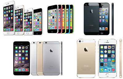 [NEW SEALED BOX] APPLE IPHONE IN SEALED BOX 4S 5 5S 5c & 6 16 GB &32GB UNLOCKED