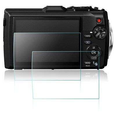 Screen Protector Film for Olympus TG-3 TG-4 Digital Camera 2X Tempered Glass