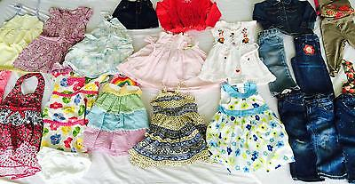 Lot 25 Girls Clothing Size 18 24 Mo 2 Tops Pants Dresses Summer Clothes Gymboree