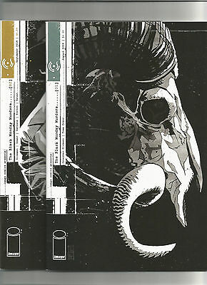 The Black Monday Murders #1 & #2 (Image 2016) Jonathan Hickman & Tomm Coker NM