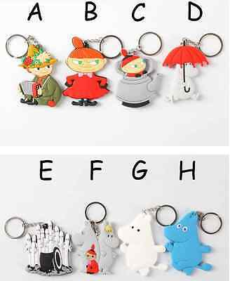 """Moomin Valley"" Rubber Keyring / Keychain / Key Holder"