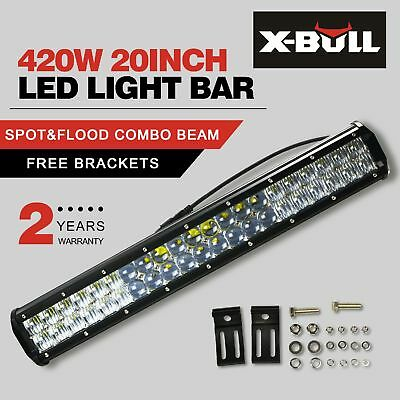 294W CREE LED Light Bar 20inch Spot Flood Combo 5D Lens Work Driving Offroad 4WD