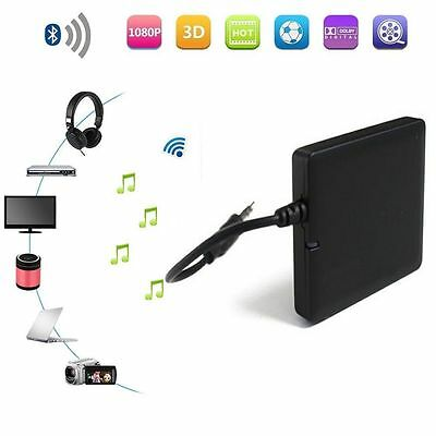 Bluetooth 3.5mm Audio Transmitter Sender A2DP Stereo Dongle Adapter f. TV MP3/4.