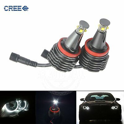 H8 BMW 40W Angel Eyes CREE LED Chip Marker E82 E87 E90 E92 M3 E63 E64 E70 E71 Z4