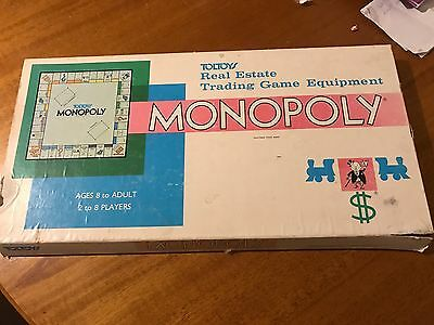Vintage Monopoly Toltoys Board Game - Excellent Condition