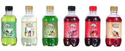 6 xSummer Cocktail Syrup for Slush Puppie Style Drink Cocktails Free Novelty cup