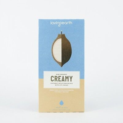 Loving Earth - Organic Creamy Coconut Mylk Chocolate - All Sizes - Raw & Vegan