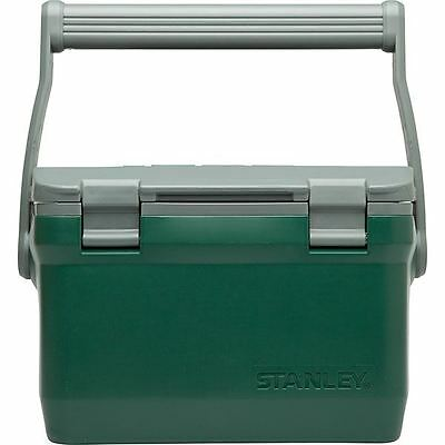 Stanley Adventure Large Green Plastic Lunch Picnic Box Foam Insulated Cooler 15L
