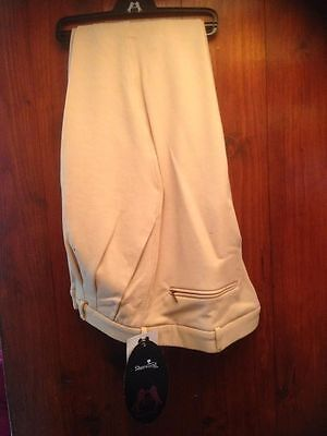 Sherwood Forest Breeches Mens Beige Size 38""
