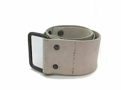 "Diesel Girls Leather Belt  Kids Bang Beige Size 24"" - 26"" RRP £35"