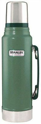 Stanley Classic Legendary Vacuum Insulated Coffee Tea Soup Bottle Flask Green 1L