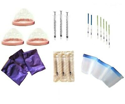 Sterile Home Insemination Kit Artificial ICI with Pregnancy & Ovulation Tests