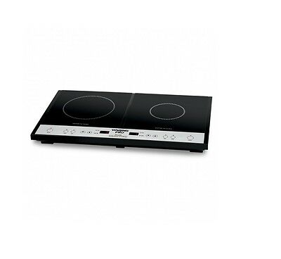 Waring Pro ICT400 Double Induction Countertop Cooktop 1 Year Warranty