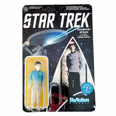 Vintage Style ReAction Figures Star Trek - Beaming Spock Action Figure