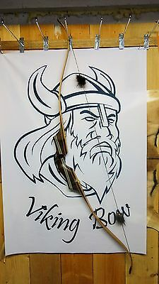 "Viking Bows- Loki Takedown Recurve Bow 62"" Long, 40# At 28"" Rh"