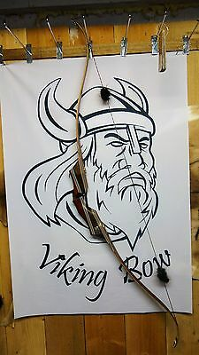 "Viking Bows- Odin Takedown Recurve Bow 62"" Long, 45# At 28"" Rh"