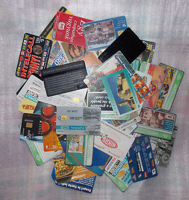 Phonecard Bundle - Various Themes and Countries - 100 Cards